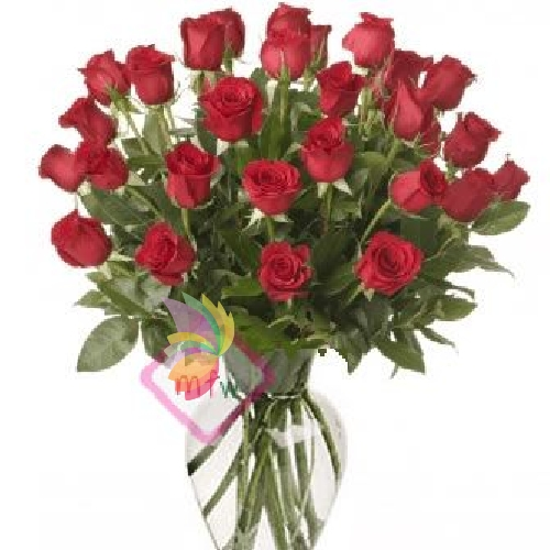 Trentasei rose rosse spediamo fiori dolci e regali a for Quadri con rose rosse