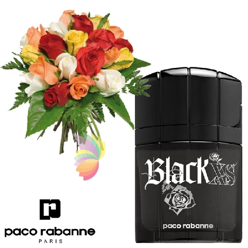 Rose e black xs for Paco rabanne black rose