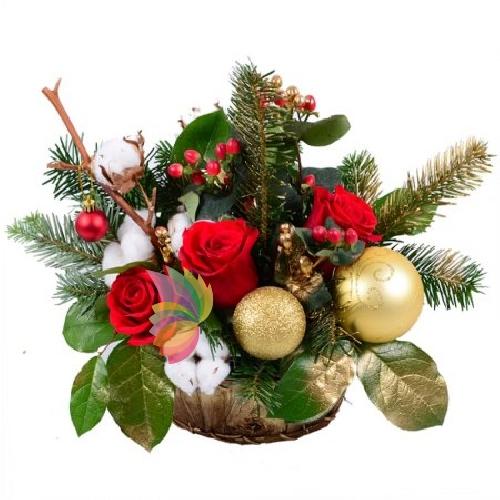 Decorazioni Natalizie Dorate.Natale Dorato