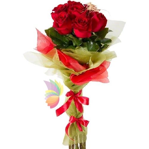 Preferenza Sette rose rosse | Spediamo fiori, dolci e regali a domicilio EY23