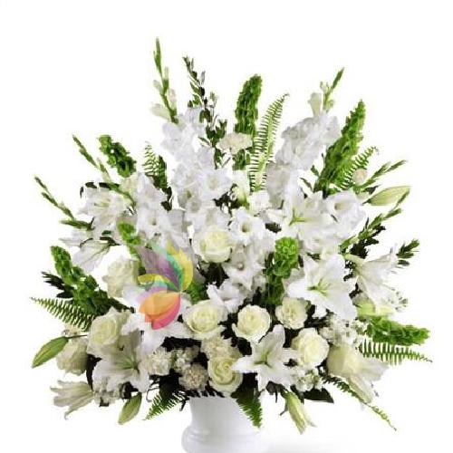 Ben noto Composizione colori tenui | Spediamo fiori, dolci e regali a domicilio LE45