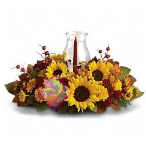 Très Bouquet e composizioni con girasoli NT17