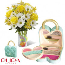 immagine Bouquet bicolore e Pretty Love PUPA