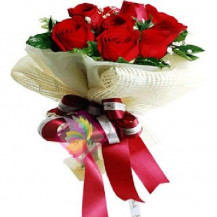immagine Bouquet di rose rosse