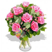 immagine Bouquet di rose rosa